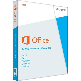 Microsoft Office Home and Business 2013 Russia Only EM DVD No Skype