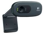960-000636 Logitech HD Webcam C270, USB 2.0, 1280*720, 3Mpix foto, Mic, Black